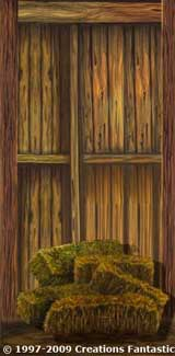 Backdrop WW012 Sunset Barn Panel 2