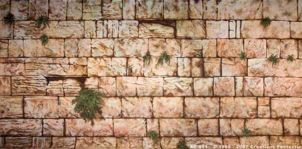 Backdrop AC 011 Wailing Wall 1