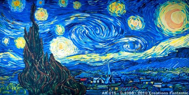 Backdrop AR 015 Starry Night