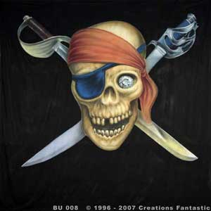 Backdrop BU008  Jolly Roger 1