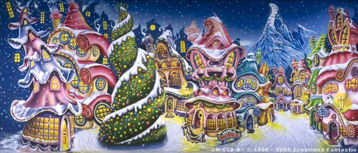 Backdrop CH028-S Whoville Christmas 1