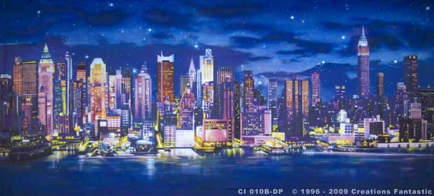 Backdrop CI 010B-DP3 New York Skyline B