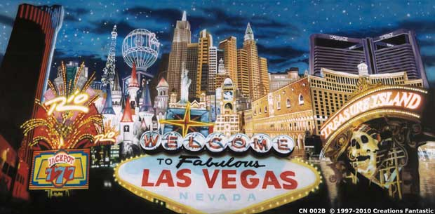 Backdrop CN002B  Las Vegas 1B