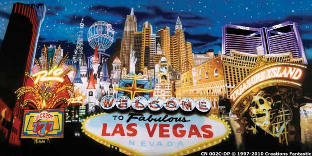 Backdrop CN002C-DP  Las Vegas 1C