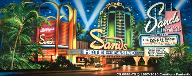 Backdrop CN 008B-TS The Sands B