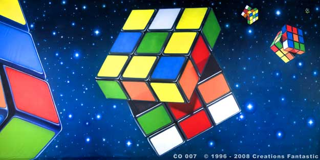 Backdrop CO 007 Rubiks Cube