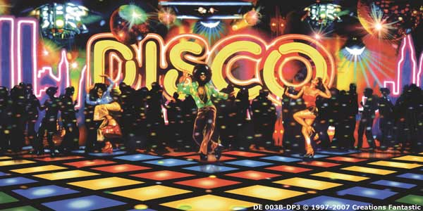 Backdrop DE003B-DP3 Disco 1B