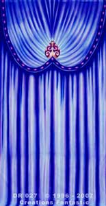 Backdrop DR027 Venetian Carnival Drape Panel 3