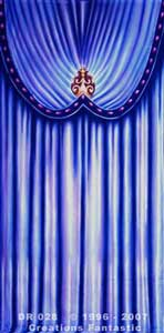 Backdrop DR028 Venetian Carnival Drape Panel 4