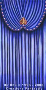 Backdrop DR039 Venetian Carnival Drape Panel 15