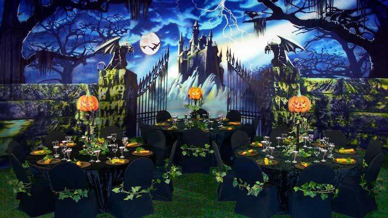 backdrops fantastic backdrops in action ha 003 haunted castle