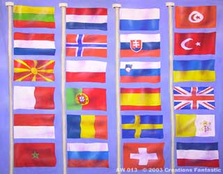 Backdrop AW 013 Flags of the World 1