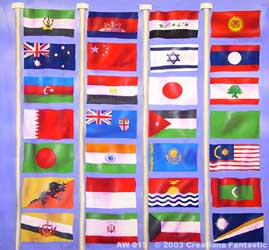 Backdrop AW 015 Flags of the World 3