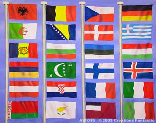 Backdrop AW 016 Flags of the World 4