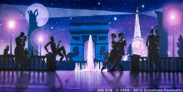 Backdrop AW 018 Moonlight in Paris