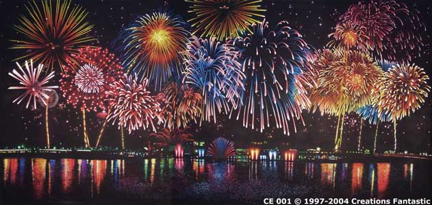Backdrop CE 001 Fireworks 1