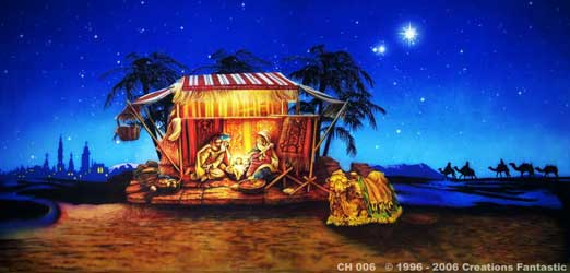 Backdrop CH006 Nativity 1