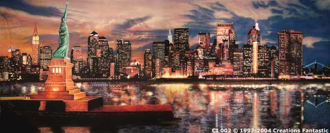 Backdrop CI 002 New York Sunset