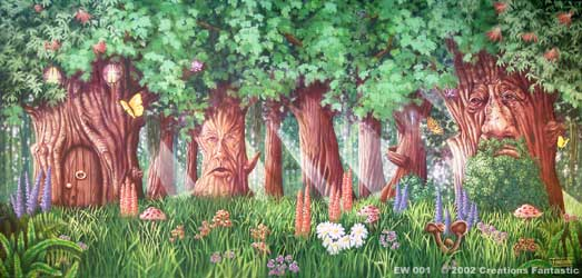 Backdrop EW 001 Enchanted Woods 1
