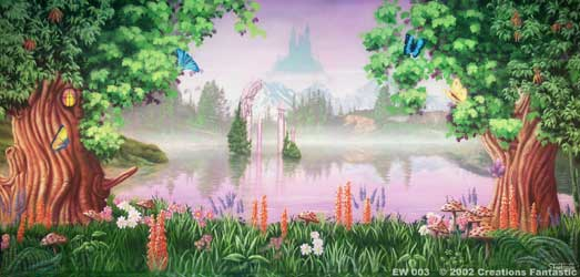 Backdrop EW 003 Enchanted Woods 3