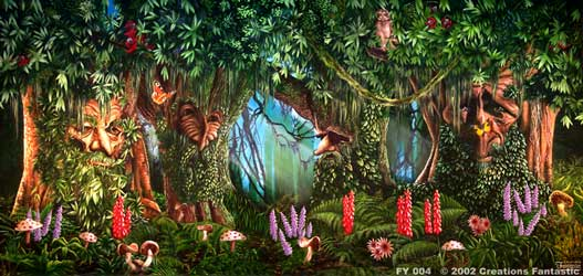 Backdrop FY004 Fantasy Forest 1