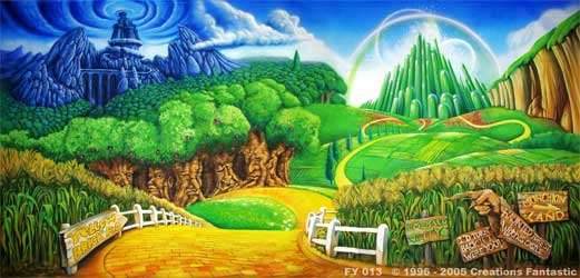 Backdrop FY013 Land of OZ
