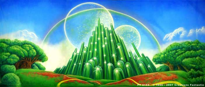Backdrop FY 015-S The Emerald City