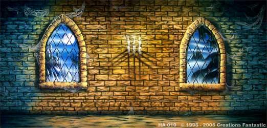 backdrop ha010 haunted castle interior 3