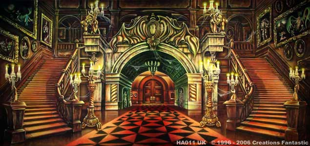 Backdrop Image: HA011B Haunted Mansion Interior 1B