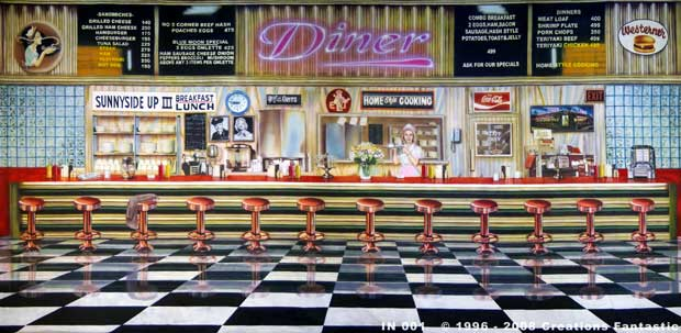 Backdrop IN 001 Diner Interior 1
