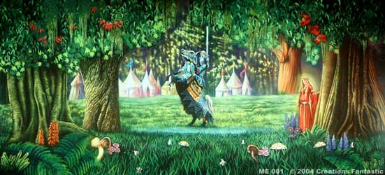 Backdrop ME 001 Medieval Knight