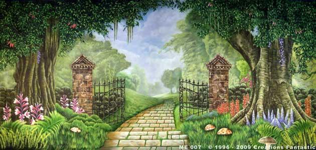ME 007 Medieval Garden 2