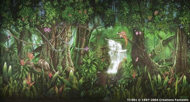 backdrop tj001 tropical jungle 1