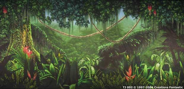 backdrop tj002 tropical jungle 2