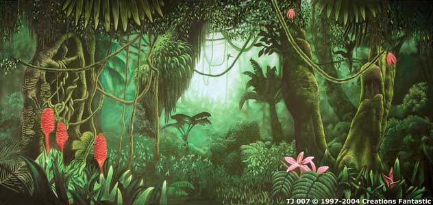 Backdrop TJ 007 Tropical Jungle 7