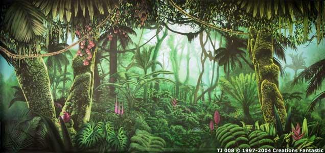 backdrop tj008 tropical jungle 8