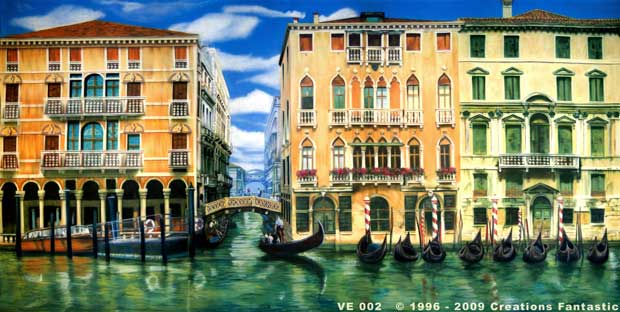 Backdrop VE 002 Canals of Venice 2