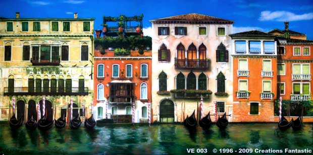 Backdrop VE 003 Canals of  Venice 3
