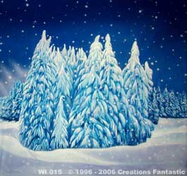 Backdrop Image: WI 015B Winter Wonderland 8B
