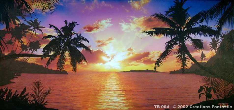 TB-004-Tropical-Beach-Sunset-1