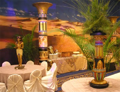 Egyptian Wedding Decor